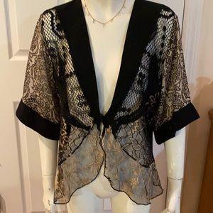 Vintage Spencer Alexis Unique Kimono/Jacket ❤️❤️❤️
